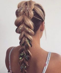The Perfect Party Braided Ponytail