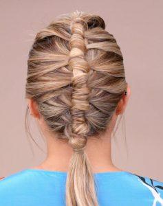 Interesting Wrap Braid Ponytail