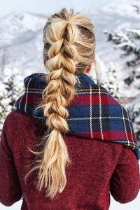 Simple and Beautiful Pull Through Braid