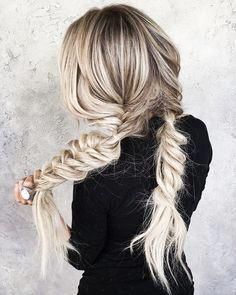 loose bohemian braid