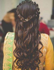 pearls braid crowns