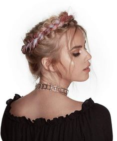 festival crown braid