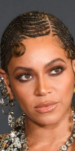 beyonce braids with curl