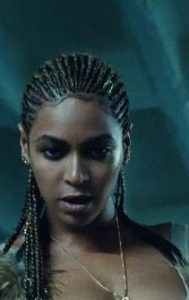 box braid edges beyonce