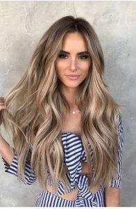 medium dirty blonde hair