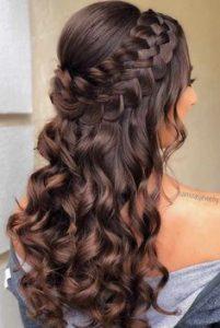 multi braids knotted curl