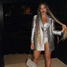 super long beyonce braids