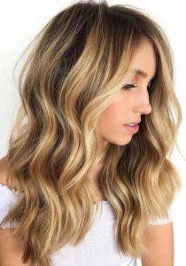 dark undertone with golden blonde