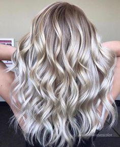 silver blending blonde