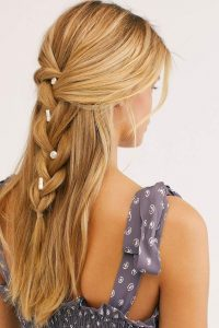 embellished braid beach
