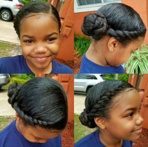 halo crown braid
