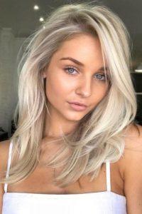 flat ice blonde
