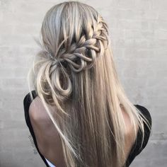 waterfall looping braids
