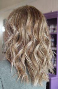 medium blonde hair with ash tone