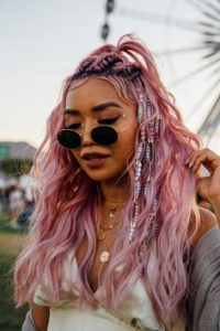 bright pink coachella