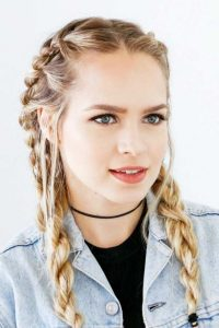 french rope braids