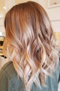 pink toned blonde