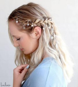 metallic star braiding
