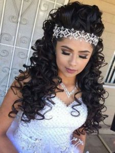 quince glam headpiece across
