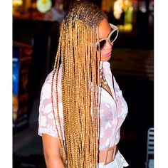 extra length blonde beyonce braiding