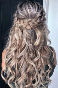 knotted braids curls