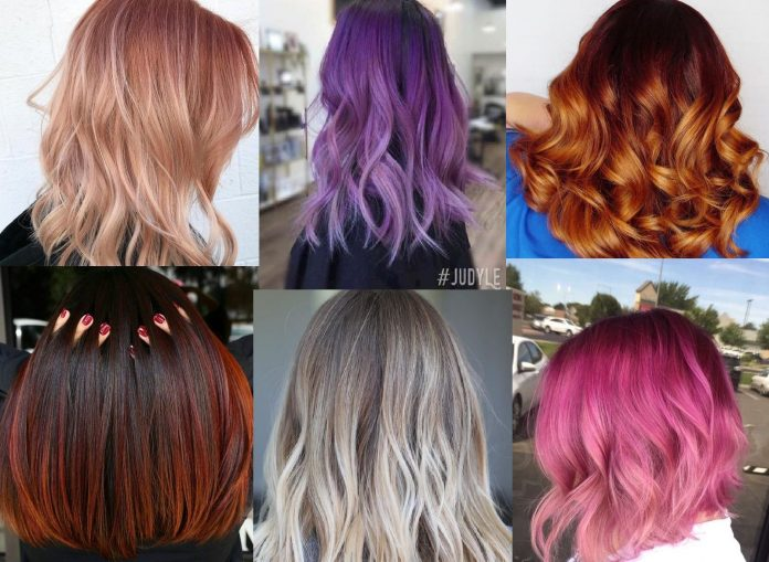Color Melt Hair