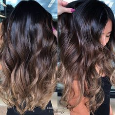 Gorgeous Brunette Color Melt