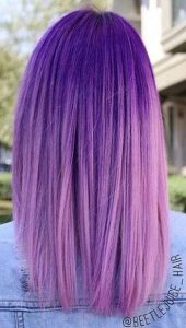 Lavender and Lilac Color Melt