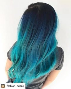Ocean Blue Color Melt