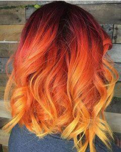 Phoenix Color Melt Hair