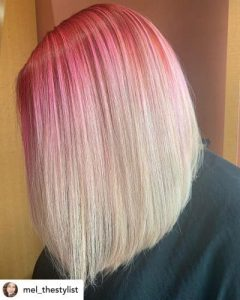 Pink to Platinum Melt