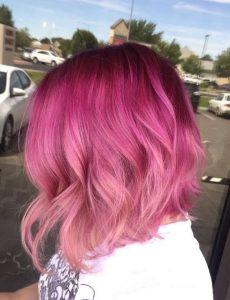 Raspberry Melt Hair