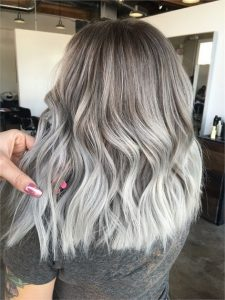 Smokey Silver Color Melt