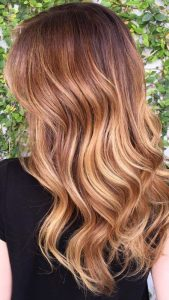 Lovely Strawberry Blonde Melt