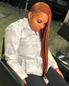 Red Lemonade braids