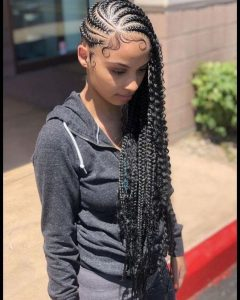 Sculptured Lemonade braids
