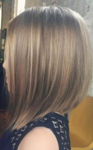 A-Line Bob with Subtle Layers