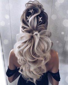 star clips ponytail glam
