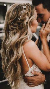 boho bride pearls