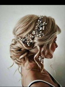 wedding bun vine