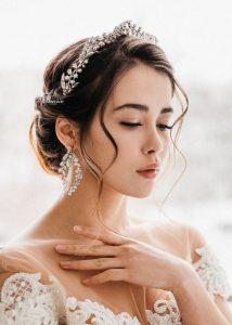 rhinestone crown bride