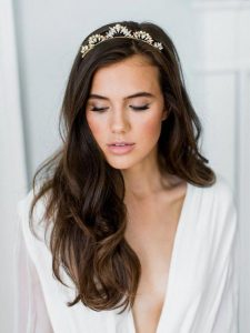bridal dainty crown