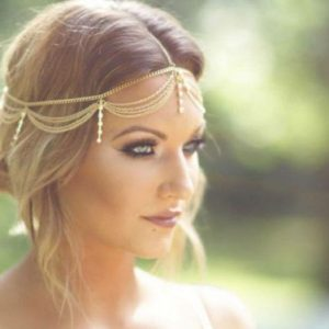 boho headpiece wedding