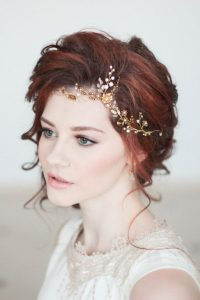 front headpiece bride