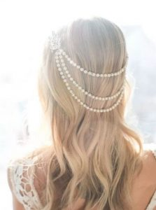 pearl crown wedding