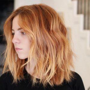 summertime red hair