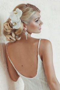 white hibiscus bride