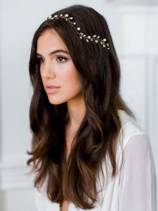small headband wedding