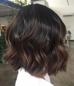 brown highlights chestnuts