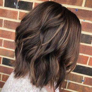 brown highlights chocolate